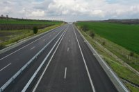 """До 9 май ще има две ленти за София и една за Бургас при надлеза при 159-и км от АМ """"Тракия"""""""