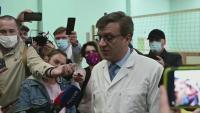 Свързаният с Навални медик се появи 3 дни, след като изчезна