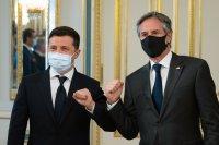 Антъни Блинкен в Украйна: Настоява за запазването на териториалната цялост на страната