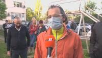 """В столичния квартал """"Свобода"""" протестират срещу застрояване на градинка"""