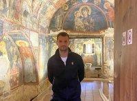 Григор Димитров посети Боянската църква