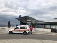 Жената в метрото е простреляна близо до станцията на летището, имала е билет за Виена