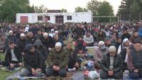 Мюсюлманите у нас посрещнаха Рамазан Байрам с молитва на открито
