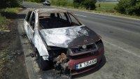 Тежко е състоянието на момиченцето, пострадало в пожар в автомобил край Бургас