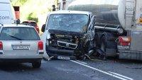 Пиян шофьор е причинил сблъсъка в Кресненското дефиле, пострадала е бременна жена