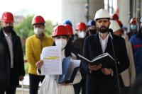 """Граждански организации и инвеститори в спор: Ще бъде ли завършен небостъргачът """"Златен век"""""""