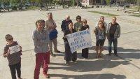 Напрежение в Царево: Местни излязоха на протест срещу застрояване край Синеморец