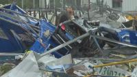 Най-малко 12 жертви на две торнада в Китай