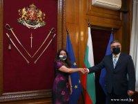 Министърът на отбраната и посланикът на САЩ у нас обсъдиха двустранното сътрудничество