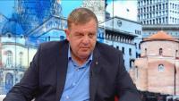 """Каракачанов: В следващото НС трябва да има """"стена"""", която да спре протестърските формации"""
