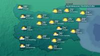 Започва затопляне, в понеделник се очакват над 30°