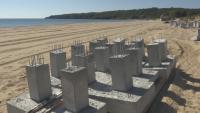"""Строителните дейности на плаж """"Смокиня"""" продължават"""