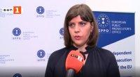 Пред БНТ: Лаура Кьовеши за причините Европейската прокуратура да отхвърли шестима кандидати от България