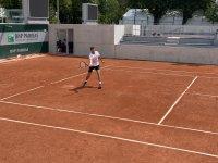 Григор Димитров тренира с Нишикори (ВИДЕО)