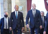 Румен Радев посрещна португалския президент