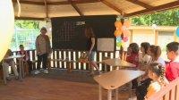 Подариха класна стая на открито на деца с увреждания във Варна