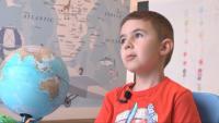 6-годишно момче от Велико Търново знае всички столици по света