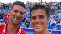 Аржентинец сбъдна мечтата си да срещне Джокович