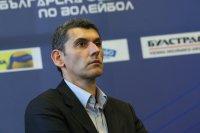 Сашо Попов подал оставка от ръководството на Волейболната лига