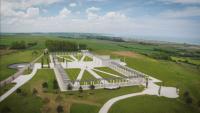 Откриха мемориал на загиналите във Втората световна война британски войници