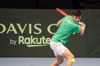 Без загубен сет: Алекс Лазаров е четвъртфиналист в Скопие