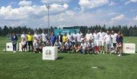 снимка 5 Приятелски мач между БНТ и Нова Броудкастинг Груп даде старт на UEFA EURO 2020™