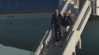 Самолетът на Джо Байдън се приземи край Лондон
