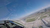 Намериха спасителна жилетка на пилота на падналия изтребител