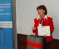 Зоя Велинова с награда за репортажите си срещу тютюнопушенето