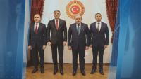 Ердоган прие делегация на ДПС, водена от Мустафа Карадайъ
