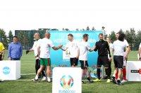 снимка 4 Приятелски мач между БНТ и Нова Броудкастинг Груп даде старт на UEFA EURO 2020™