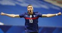 Франция не даде шансове на Уелс в приятелски мач преди Евро 2020