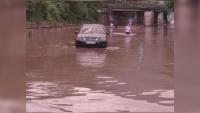 Порой превърна улиците на Враца в реки