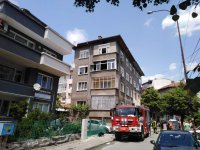 Пожар пламна на терасата на жилищен блок в Благоевград