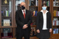 Иван Гешев проведе работна среща с Лаура Кьовеши
