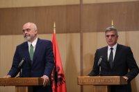 Стефан Янев обсъди европейската перспектива на Албания с Еди Рама