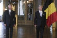 Кралят на Белгия прие Джо Байдън в двореца