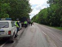 Момче и момиче загинаха при тежка катастрофа на пътя Русе - Силистра