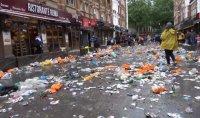 Шотландските фенове превзеха Лондон, англичаните се възмутиха (ВИДЕО)