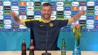 Украински футболист се пошегува с бутилките, Роналдо и Погба