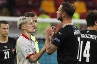 УЕФА наказа Арнаутович, пропуска мач на Евро 2020