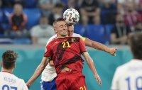 Евро 2020 приключи за защитник на Белгия след тежък сблъсък на терена