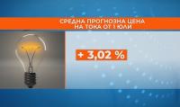 Токът ще поскъпне от 1 юли - вероятно с над 3%