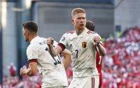 Белгия е 1/8-финалист на Евро 2020 след обрат над Дания