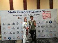 Златен медал за България при откриването на Мултиевропейското по таекуондо