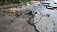 Пороен дъжд нанесе щети в Лом