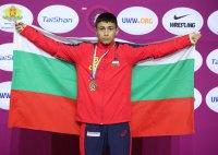 Борис Кирилов е европейски шампион по борба за кадети