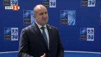 Румен Радев в Брюксел: Основен фактор за сигурността на държавите в НАТО е нашето единство