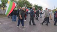 Жители на село Обручище отново блокираха пътя Гълъбово - Мъдрец