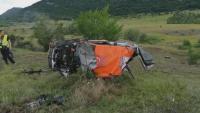 Пострадалият на рали Сливен пилот е без опасност за живота